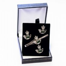 The Rifles - Cufflinks, Tie Slide or Boxed Set from